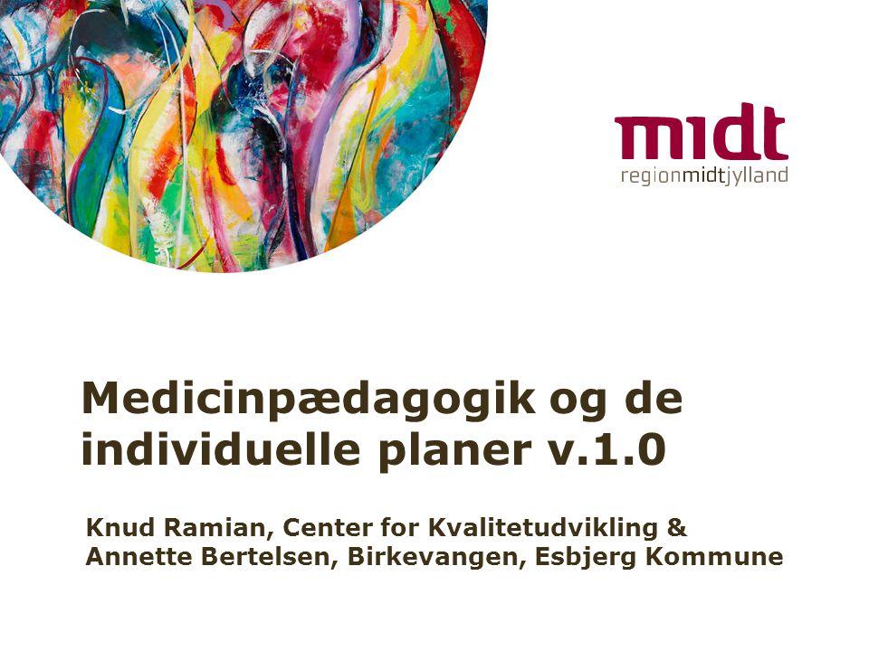 Medicinpædagogik og de individuelle planer v.1.0