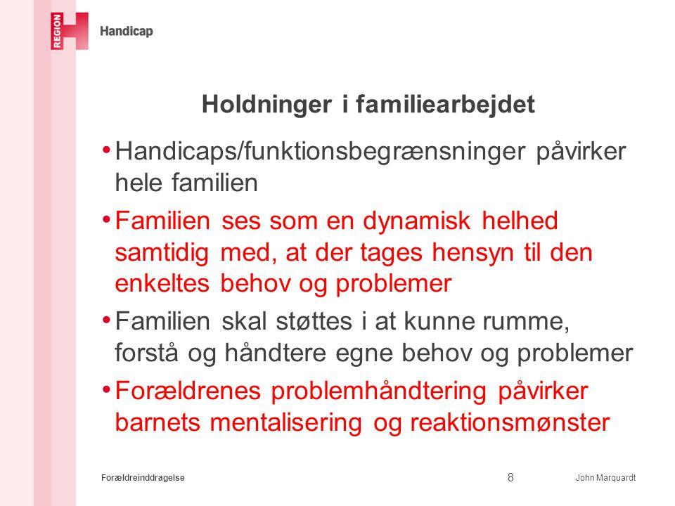 Holdninger i familiearbejdet