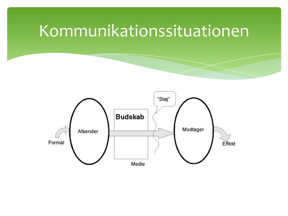 Kommunikationssituationen