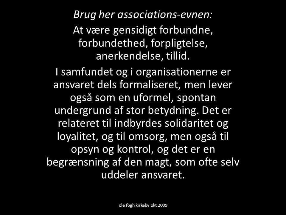Brug her associations-evnen: