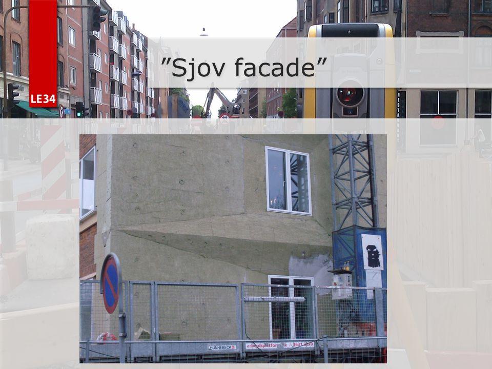 Sjov facade