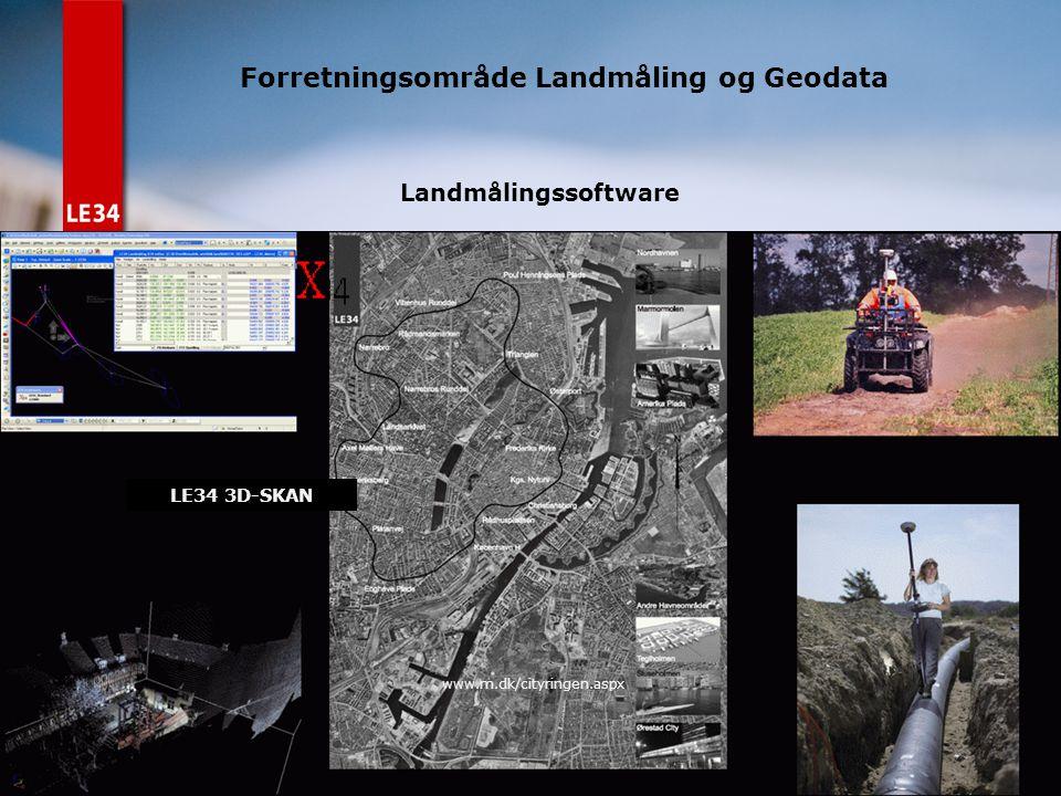 Forretningsområde Landmåling og Geodata
