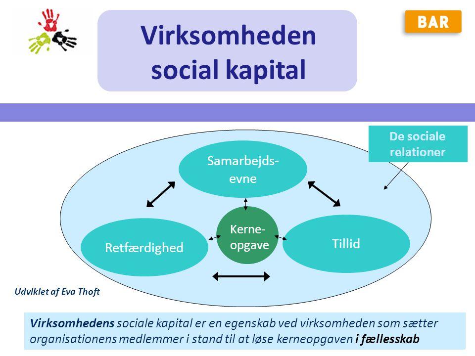 Virksomheden social kapital