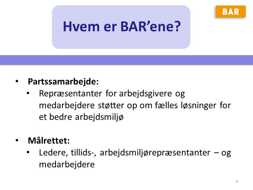 Hvem er BAR'ene Partssamarbejde: