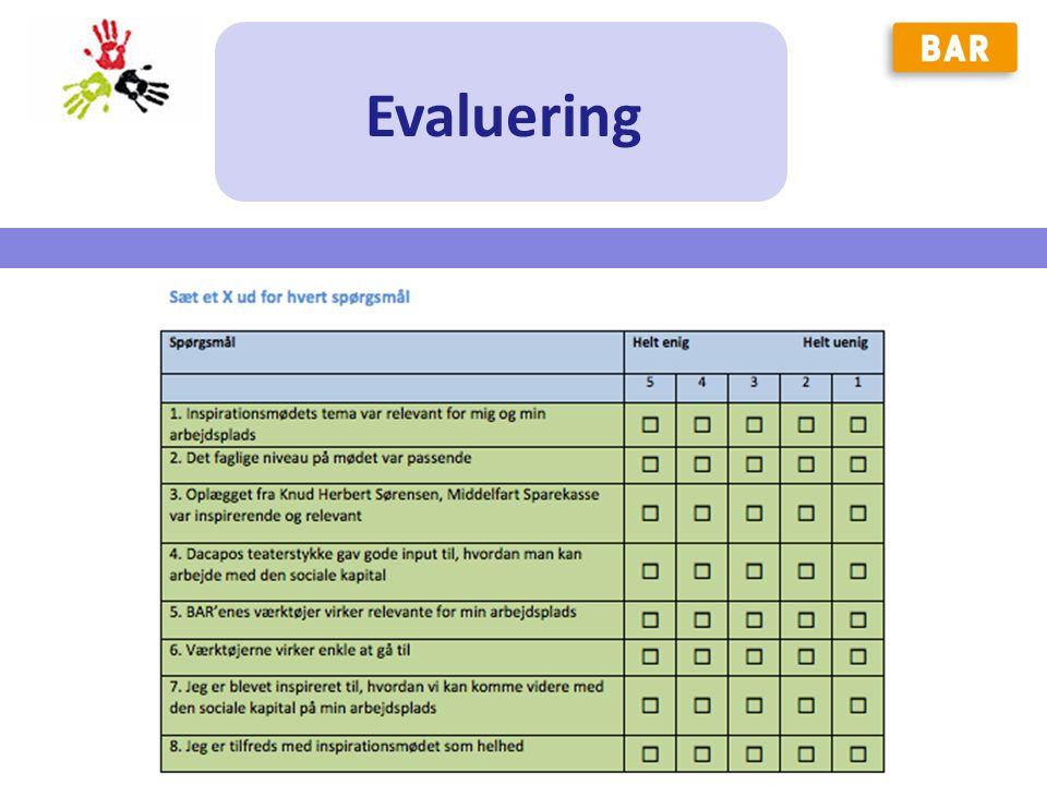 Evaluering MLU