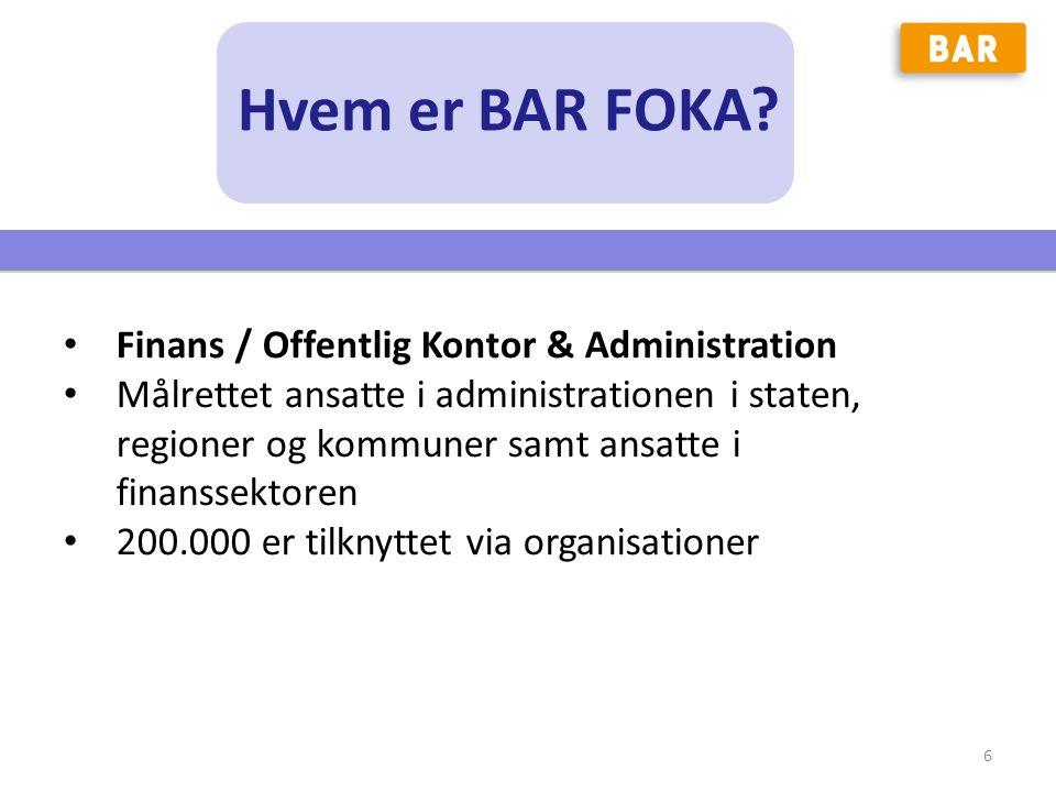 Hvem er BAR FOKA Finans / Offentlig Kontor & Administration