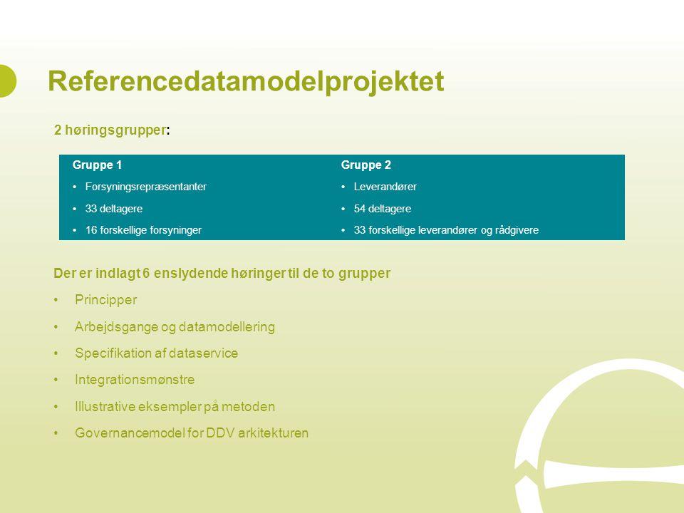Referencedatamodelprojektet