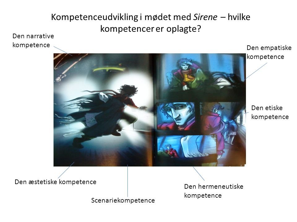 Kompetenceudvikling i mødet med Sirene – hvilke kompetencer er oplagte