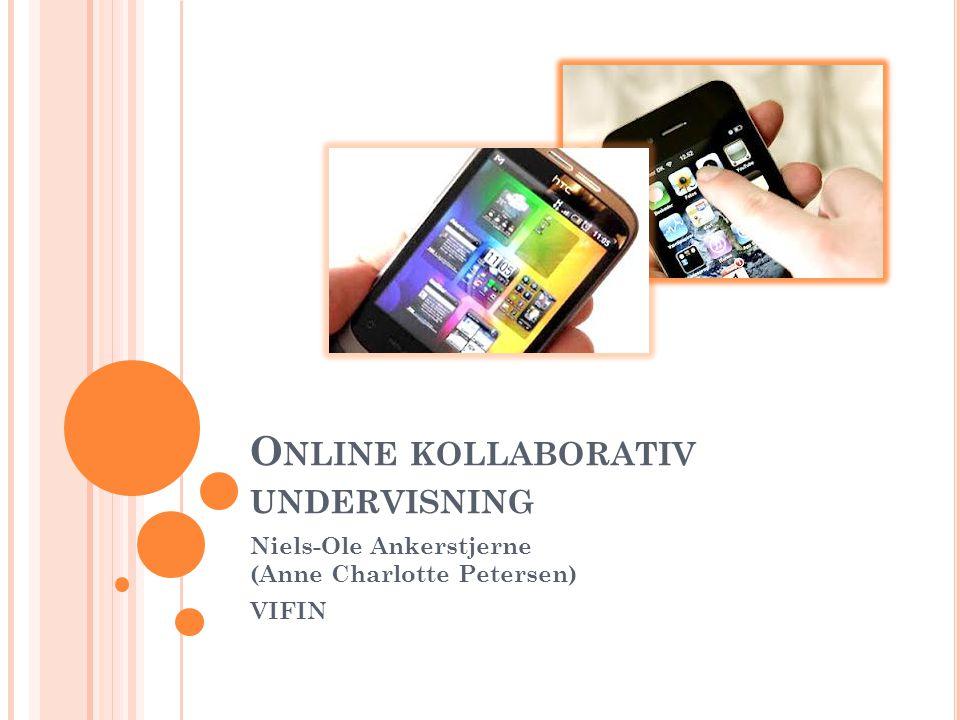 Online kollaborativ undervisning