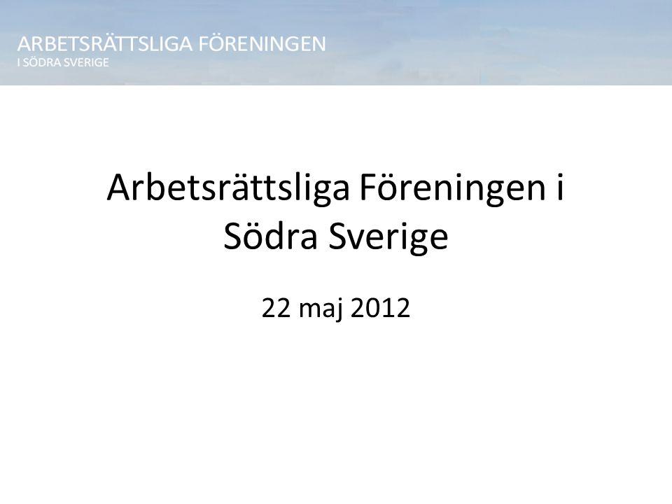 Arbetsrättsliga Föreningen i Södra Sverige