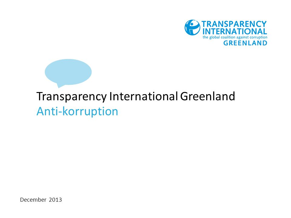 Transparency International Greenland