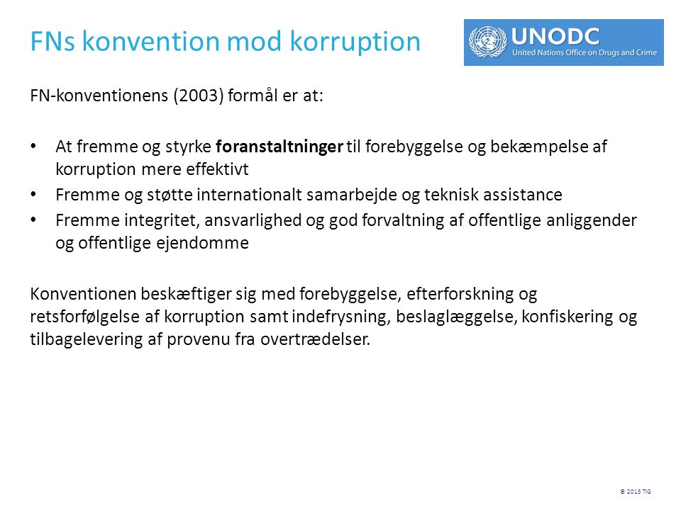 FNs konvention mod korruption