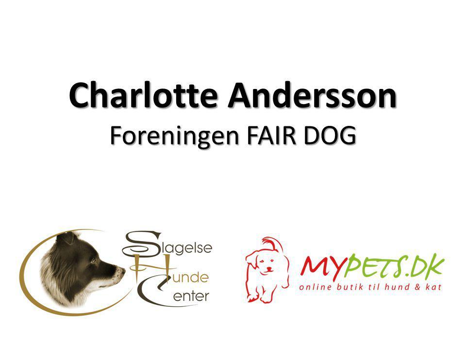 Charlotte Andersson Foreningen FAIR DOG