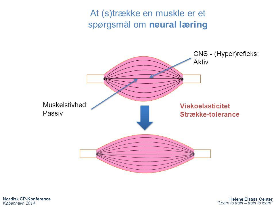 At (s)trække en muskle er et spørgsmål om neural læring