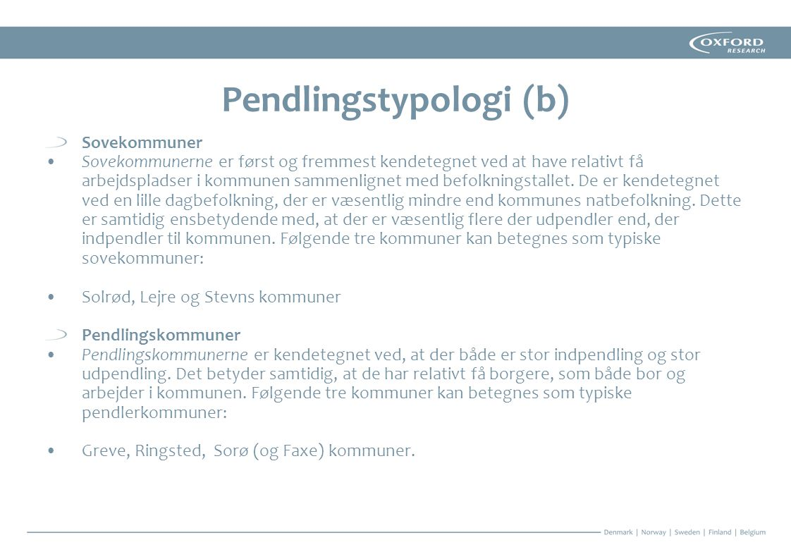 Pendlingstypologi (b)