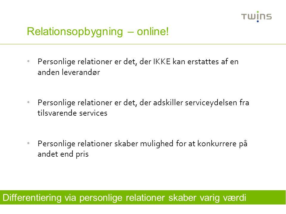 Relationsopbygning – online!