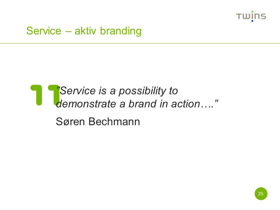 Service – aktiv branding