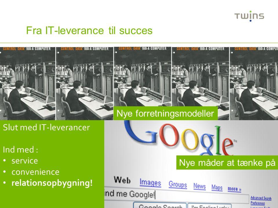 Fra IT-leverance til succes