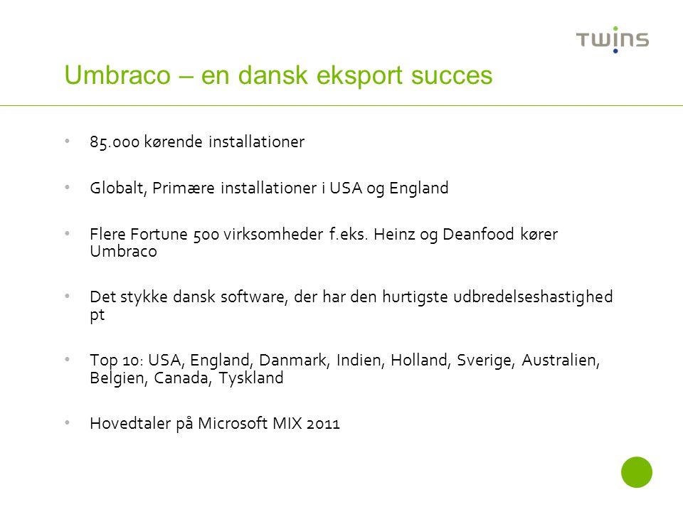 Umbraco – en dansk eksport succes