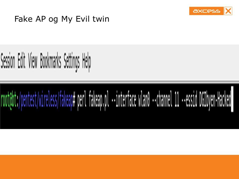 Fake AP og My Evil twin