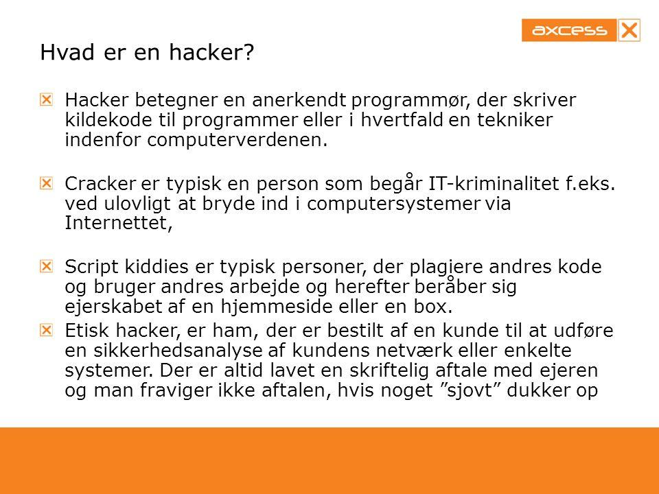 Hvad er en hacker