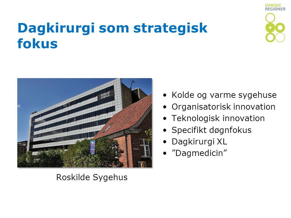Dagkirurgi som strategisk fokus