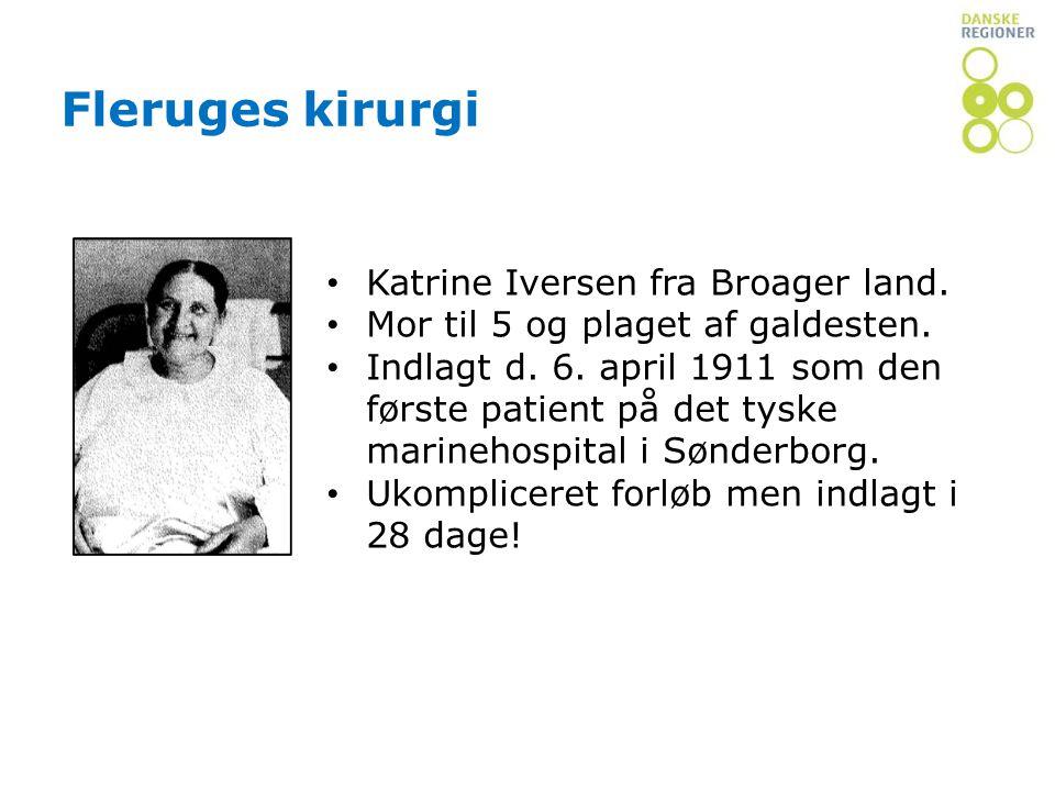 Fleruges kirurgi Katrine Iversen fra Broager land.