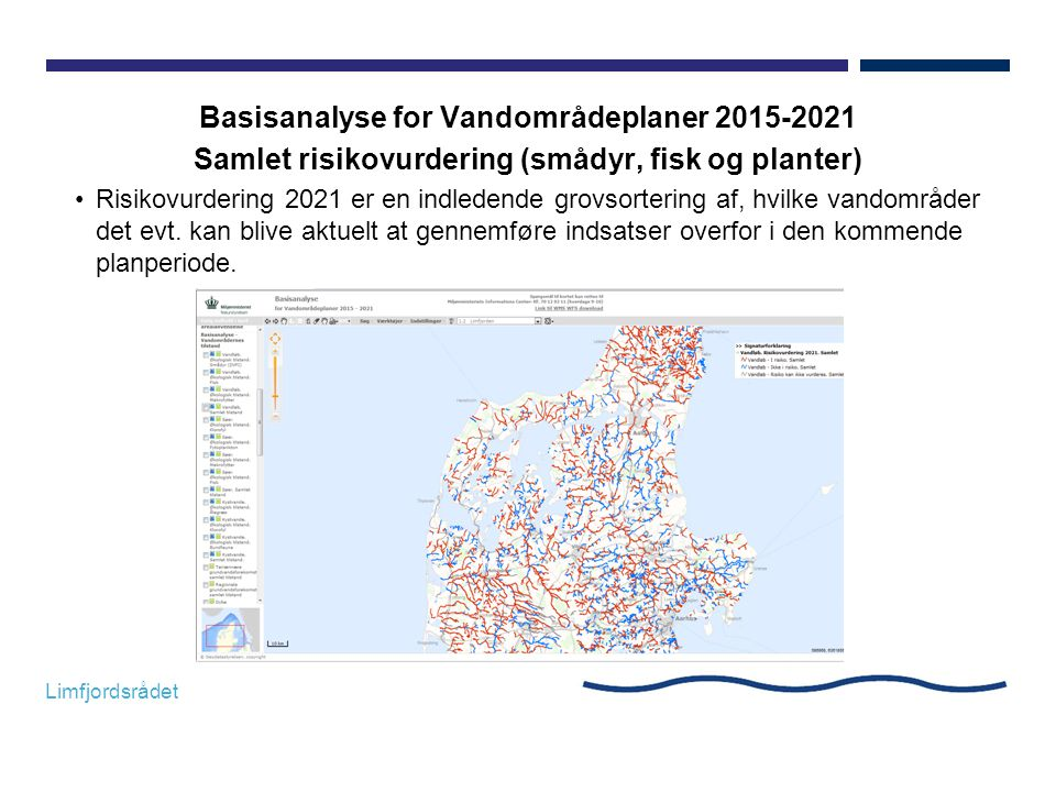 Basisanalyse for Vandområdeplaner 2015-2021