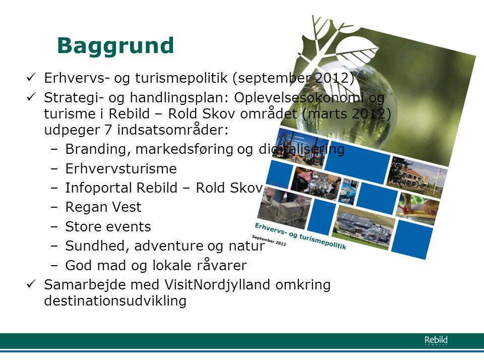 Baggrund Erhvervs- og turismepolitik (september 2012)