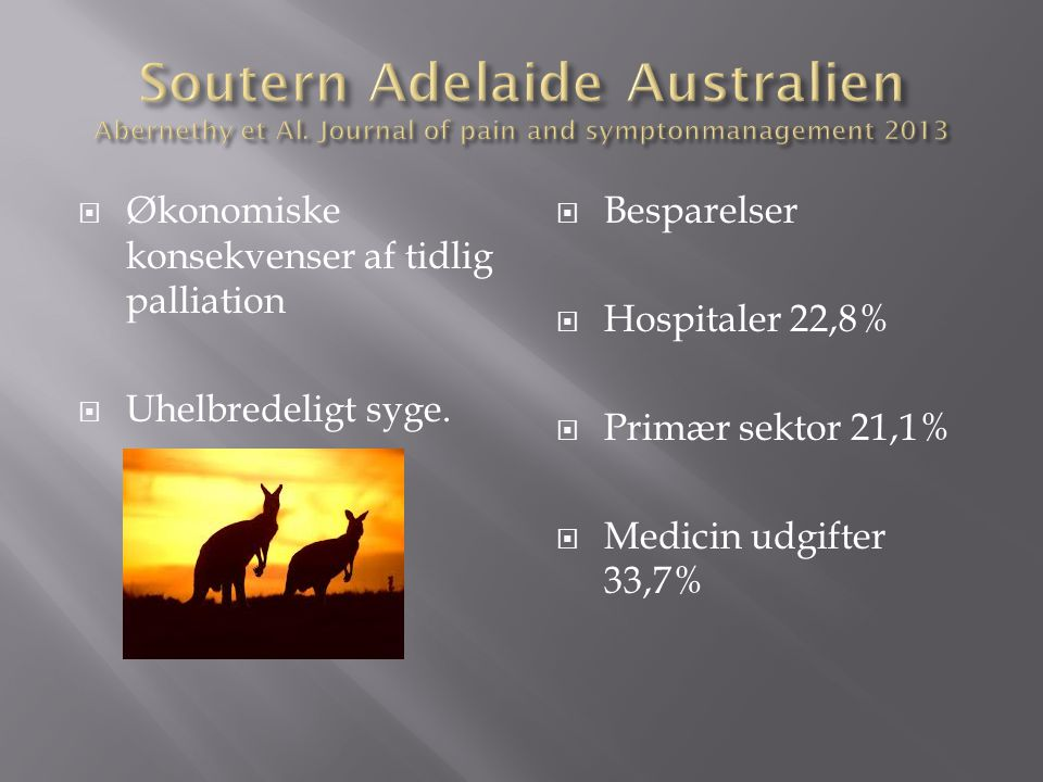 Soutern Adelaide Australien Abernethy et Al
