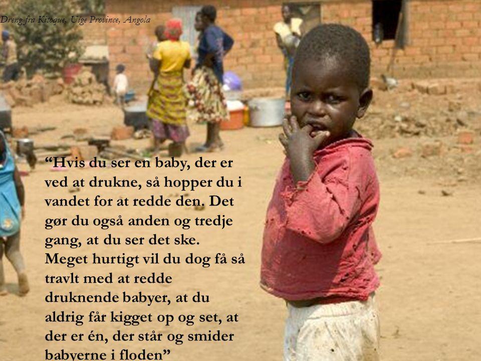 Dreng fra Kitoque, Uíge Province, Angola