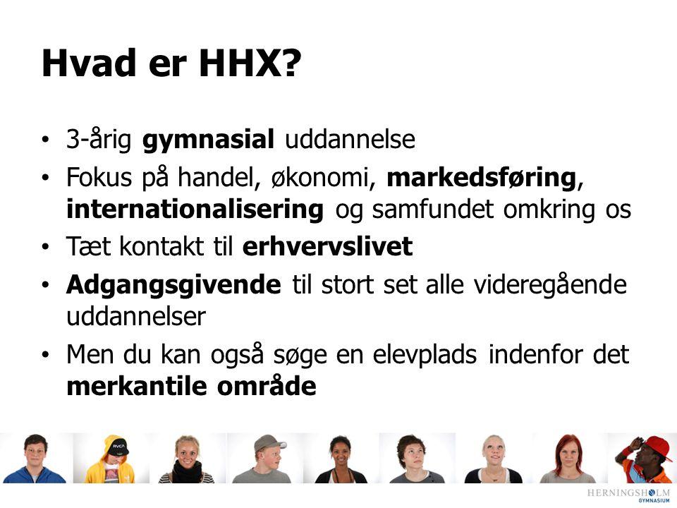 Hvad er HHX 3-årig gymnasial uddannelse