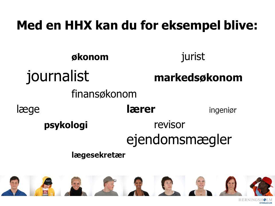 Med en HHX kan du for eksempel blive: