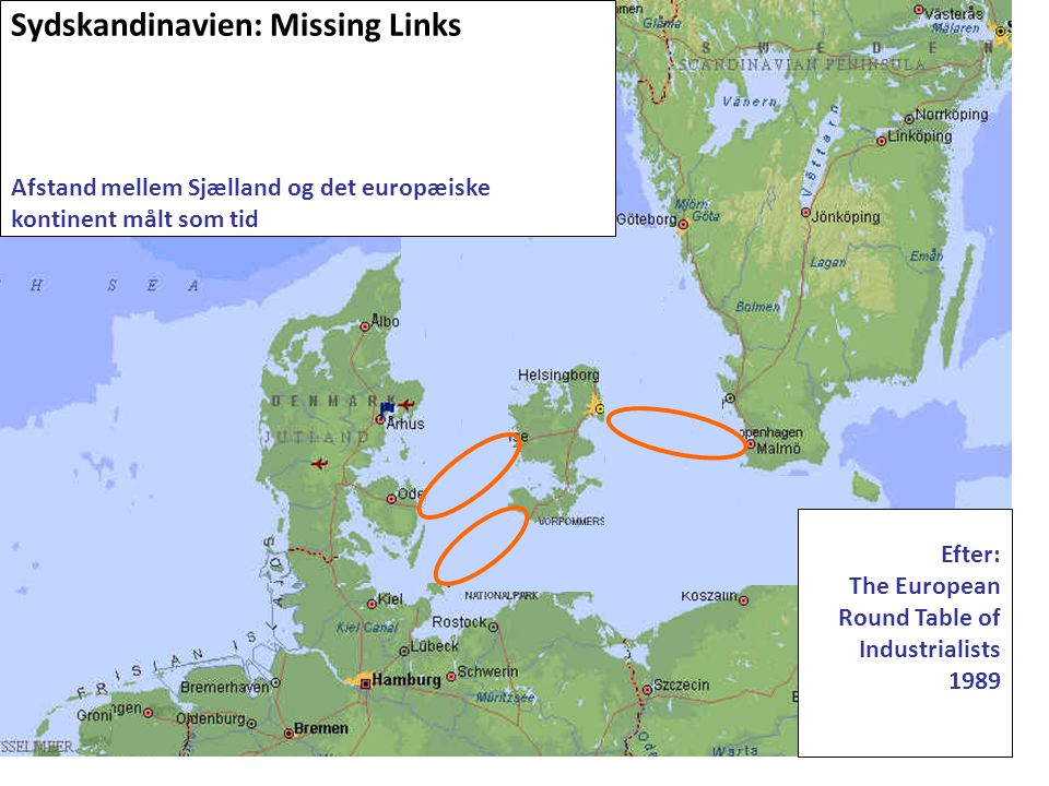 Sydskandinavien: Missing Links