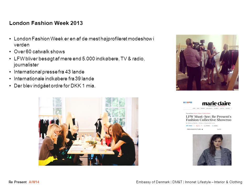 London Fashion Week 2013 London Fashion Week er en af de mest højprofileret modeshow i verden. Over 60 catwalk shows.