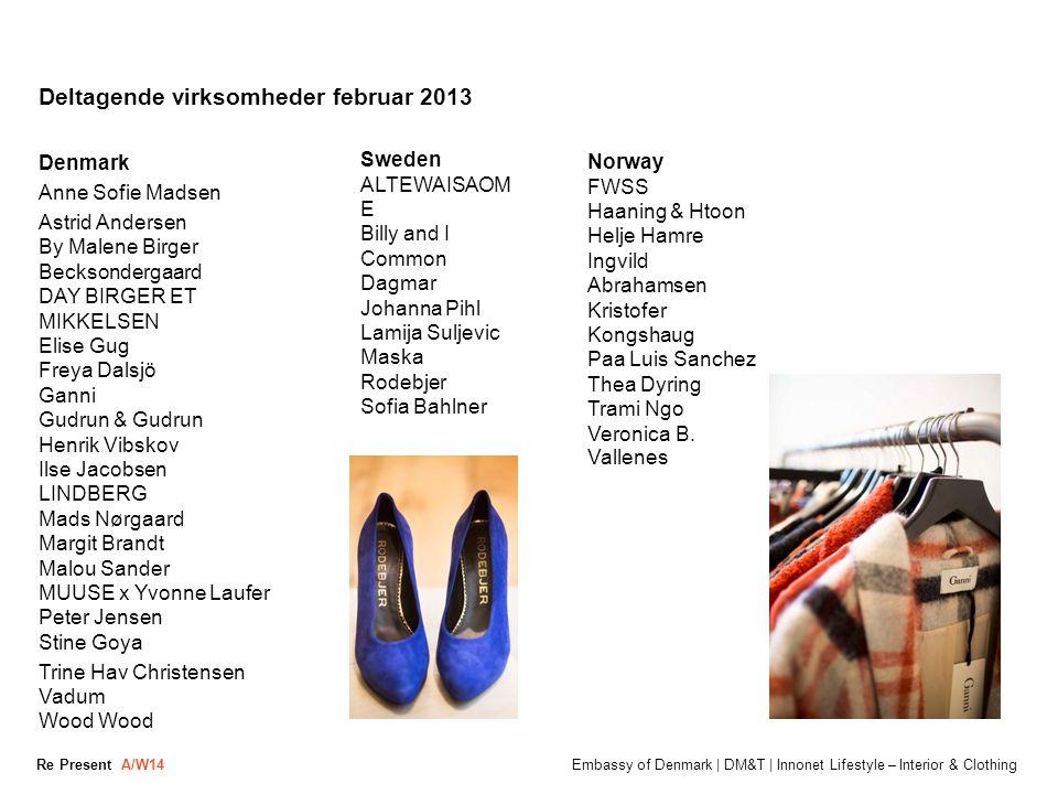 Deltagende virksomheder februar 2013