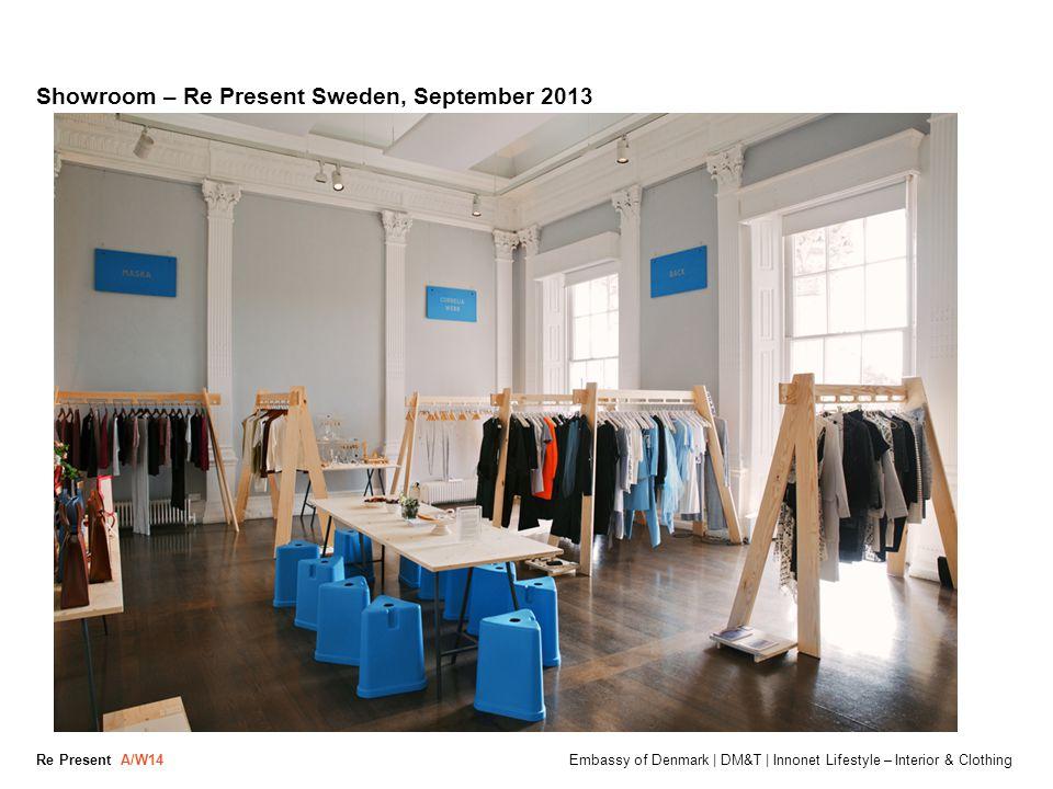 Showroom – Re Present Sweden, September 2013