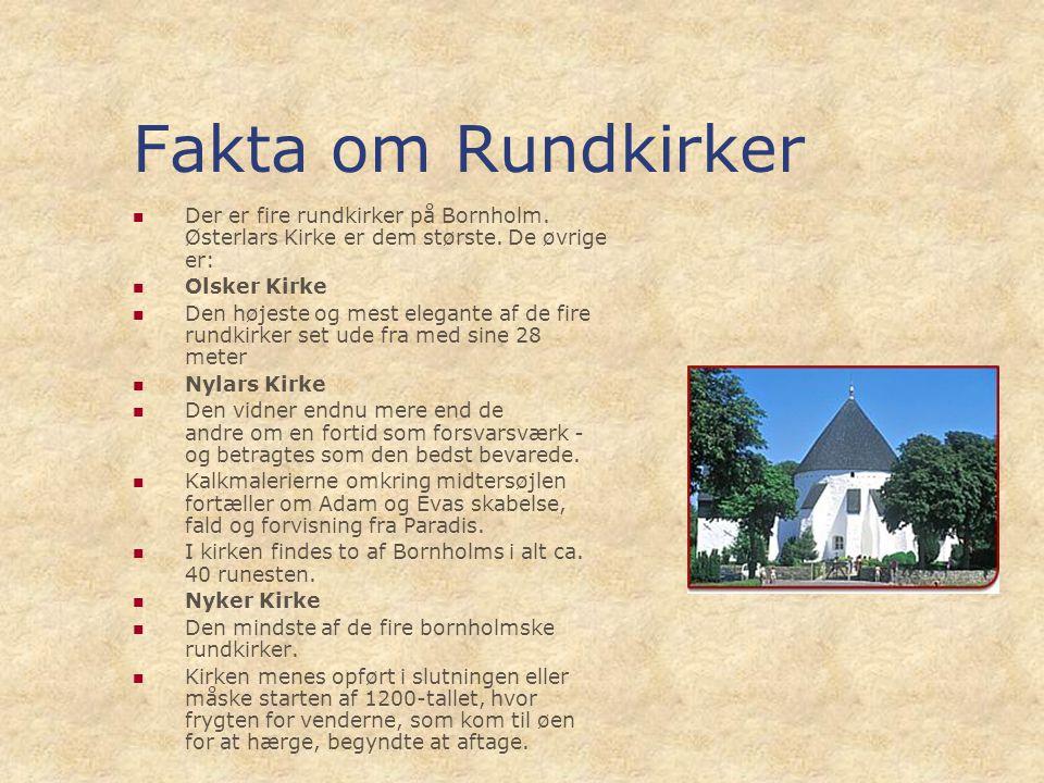 Bornholm – Hammershus – Rundkirker – Seværdigheder - ppt video online download