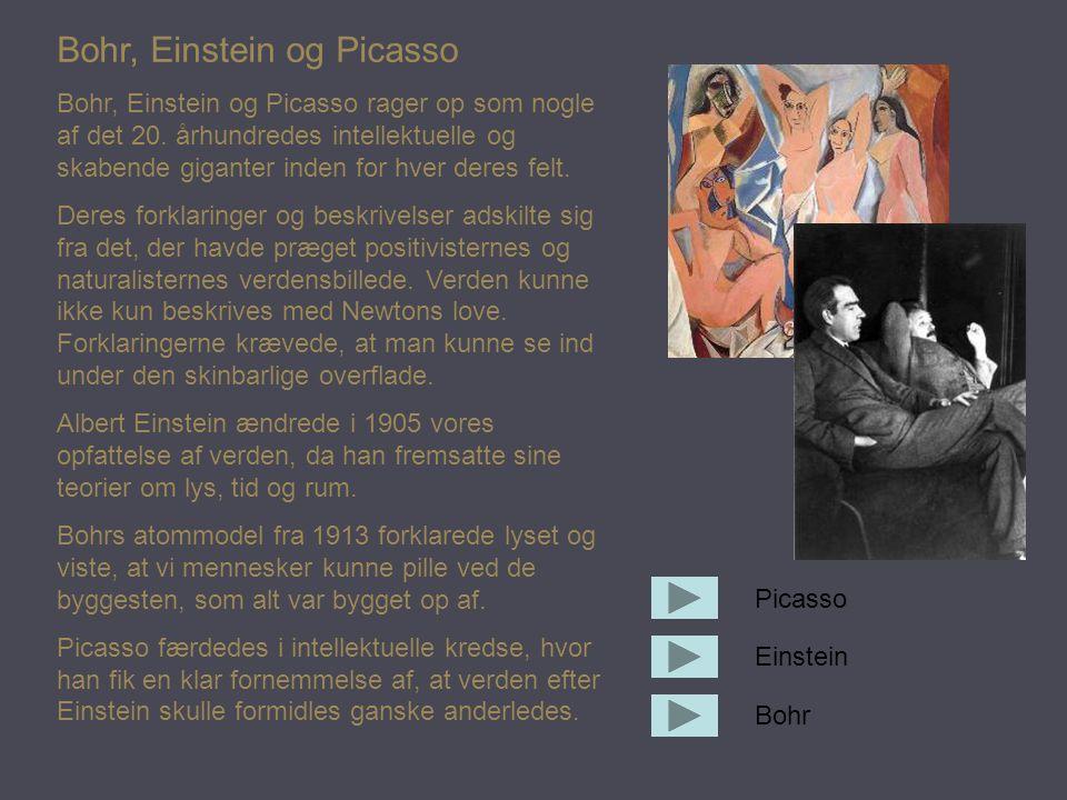Bohr, Einstein og Picasso