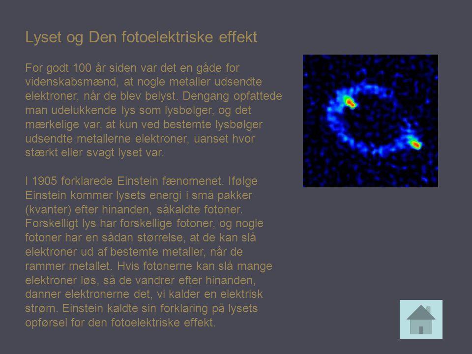 Lyset og Den fotoelektriske effekt