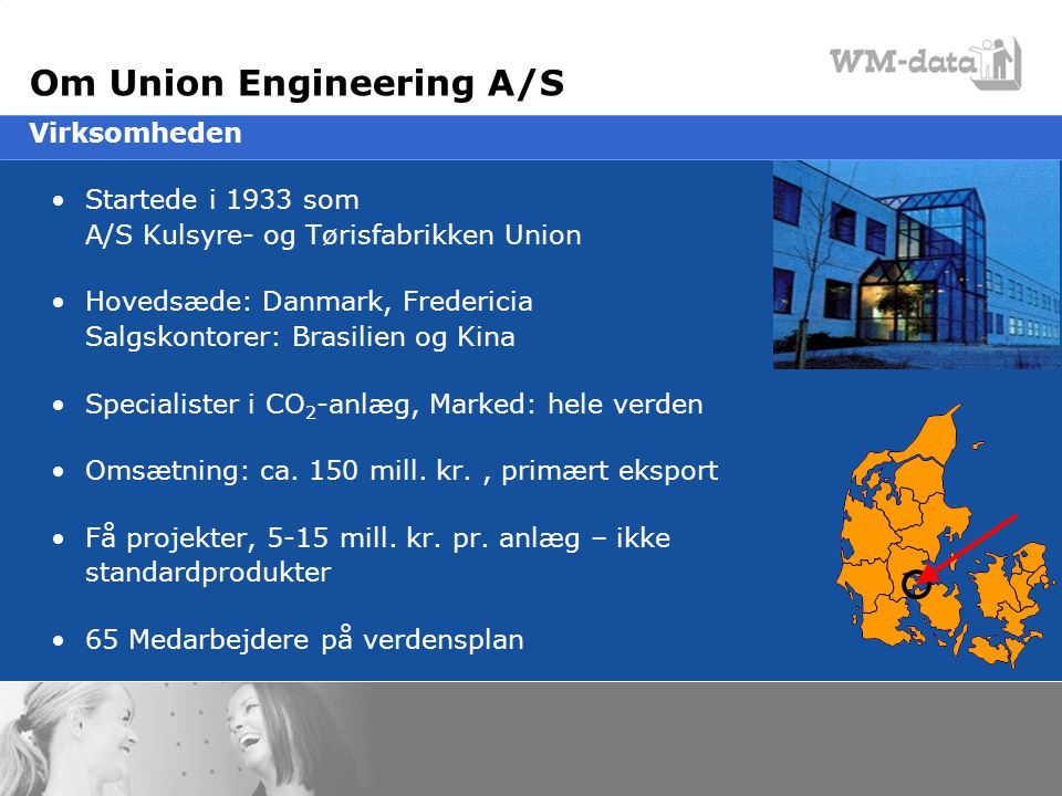 Om Union Engineering A/S