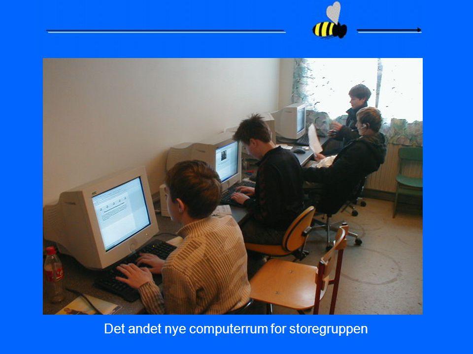 Det andet nye computerrum for storegruppen