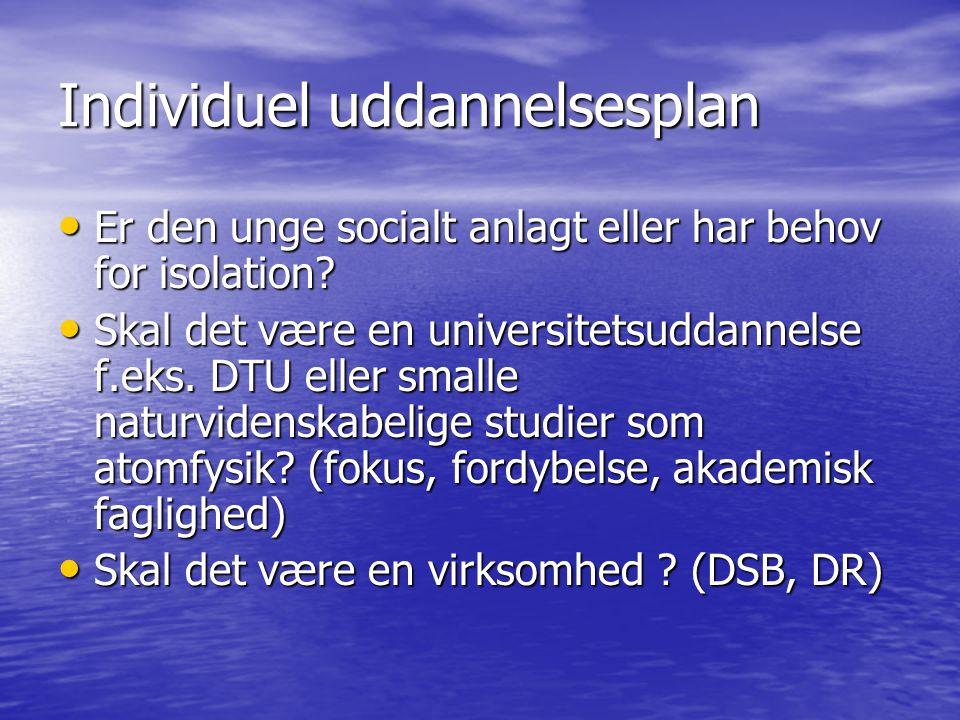 Individuel uddannelsesplan