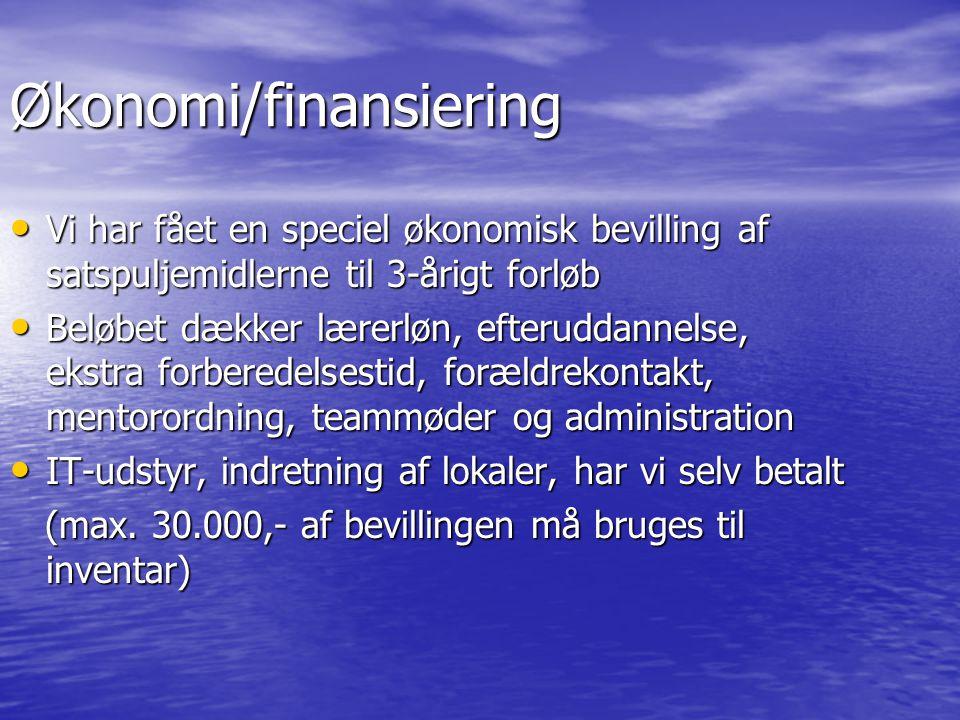 Økonomi/finansiering