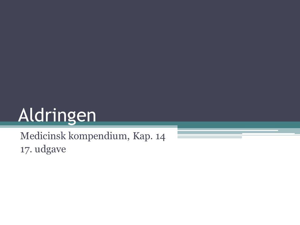 Medicinsk kompendium, Kap. 14 17. udgave