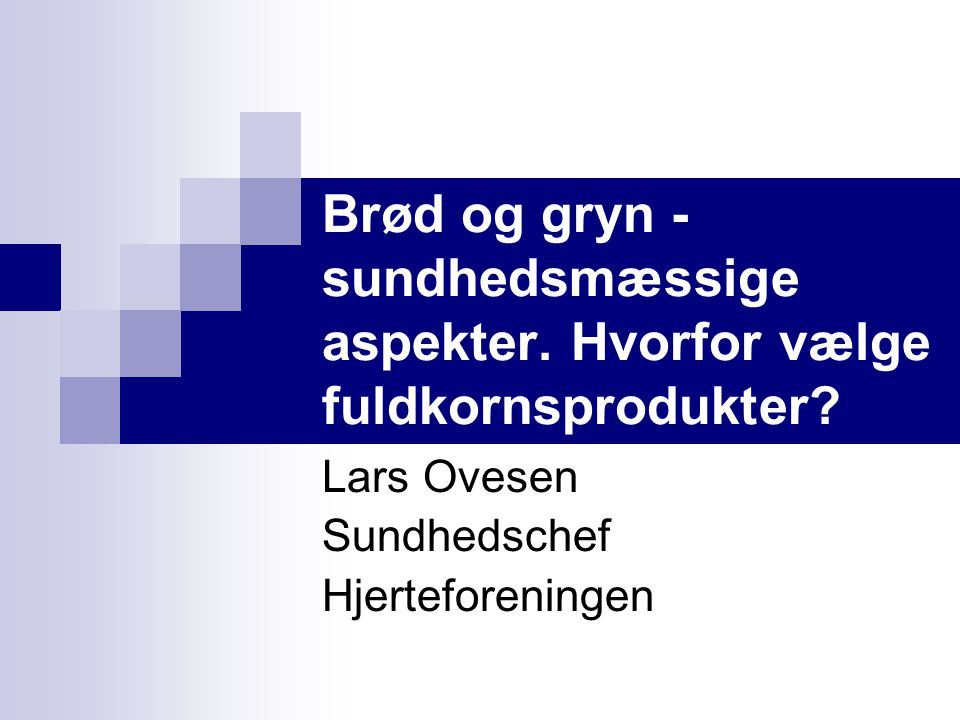 Lars Ovesen Sundhedschef Hjerteforeningen