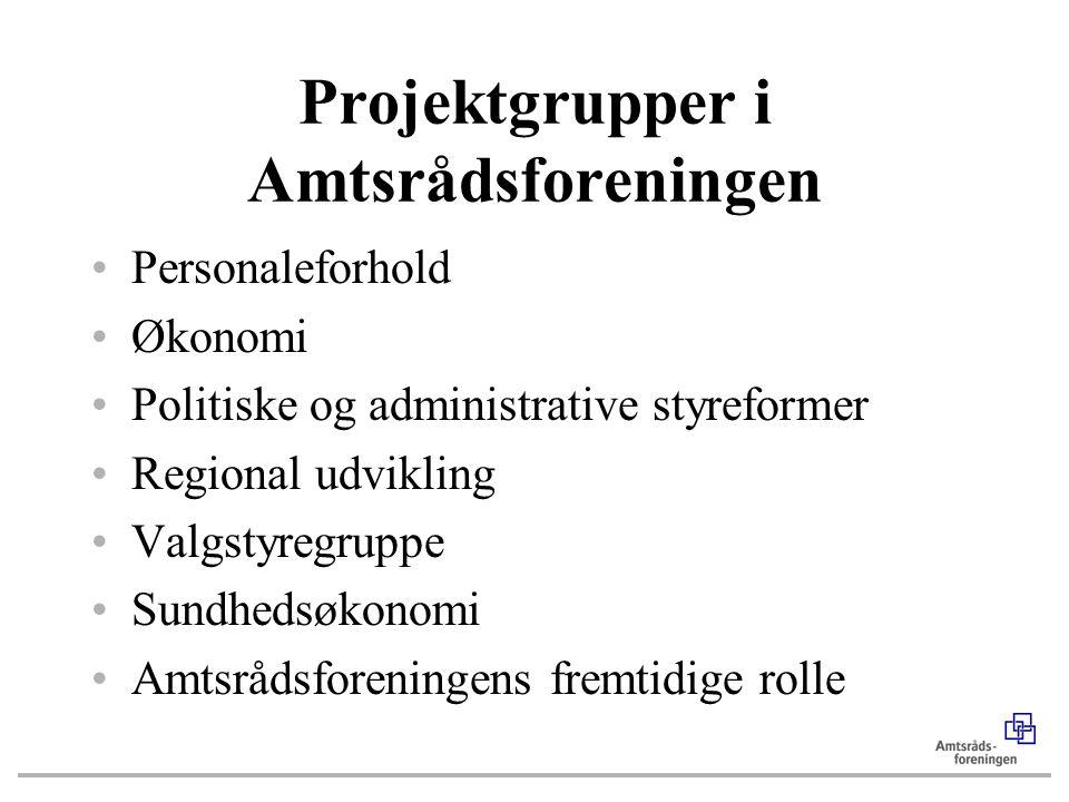 Projektgrupper i Amtsrådsforeningen