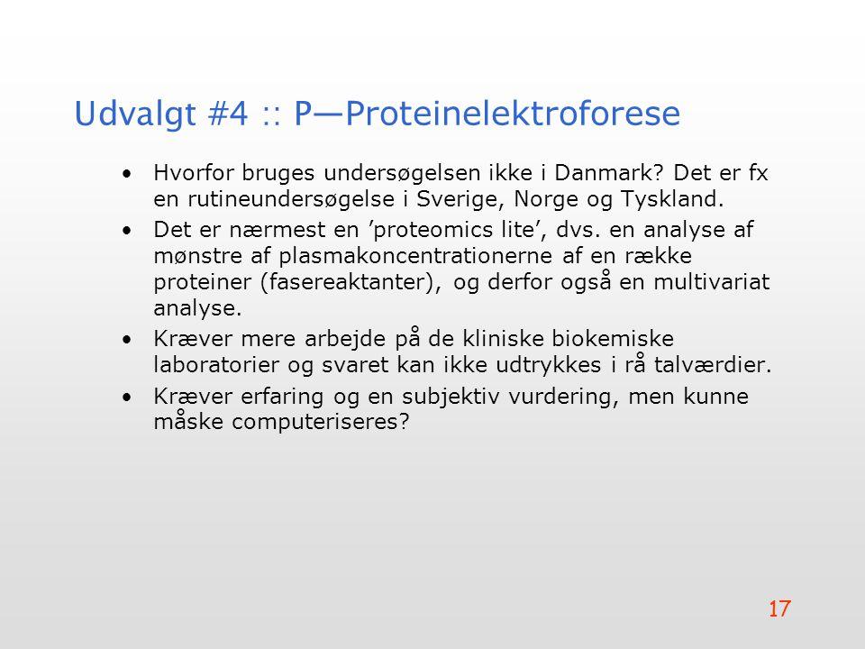 Udvalgt #4 :: P—Proteinelektroforese