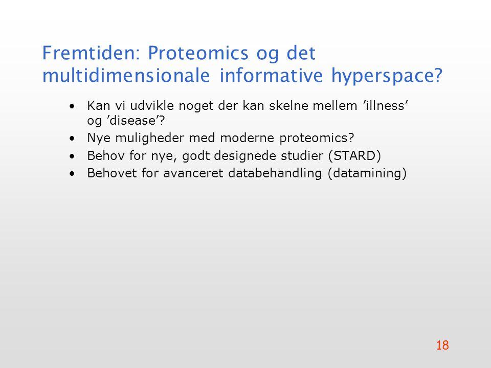 Fremtiden: Proteomics og det multidimensionale informative hyperspace