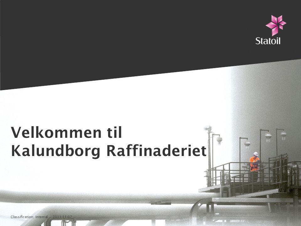 Velkommen til Kalundborg Raffinaderiet